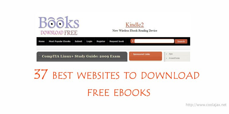 37 best websites to download free ebooks