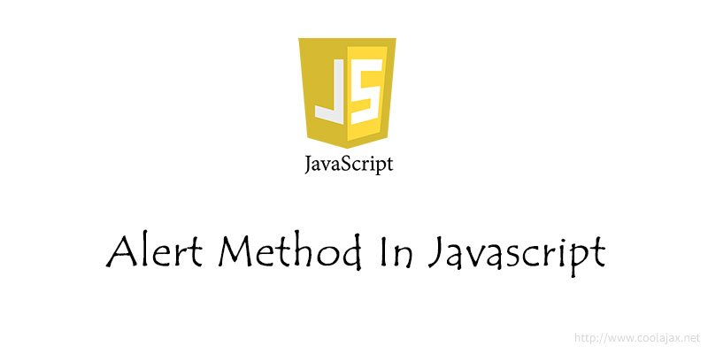 Alert Method In Javascript