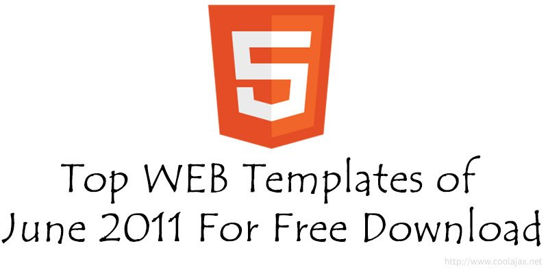 Top 30 html web templates of june 2011 for free download