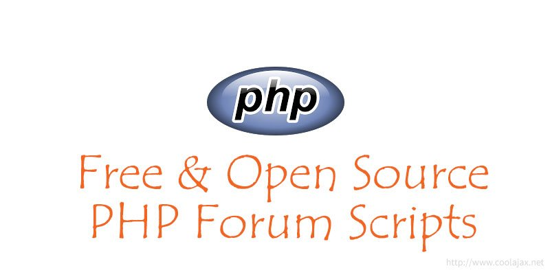 Free and open source php forum scripts |